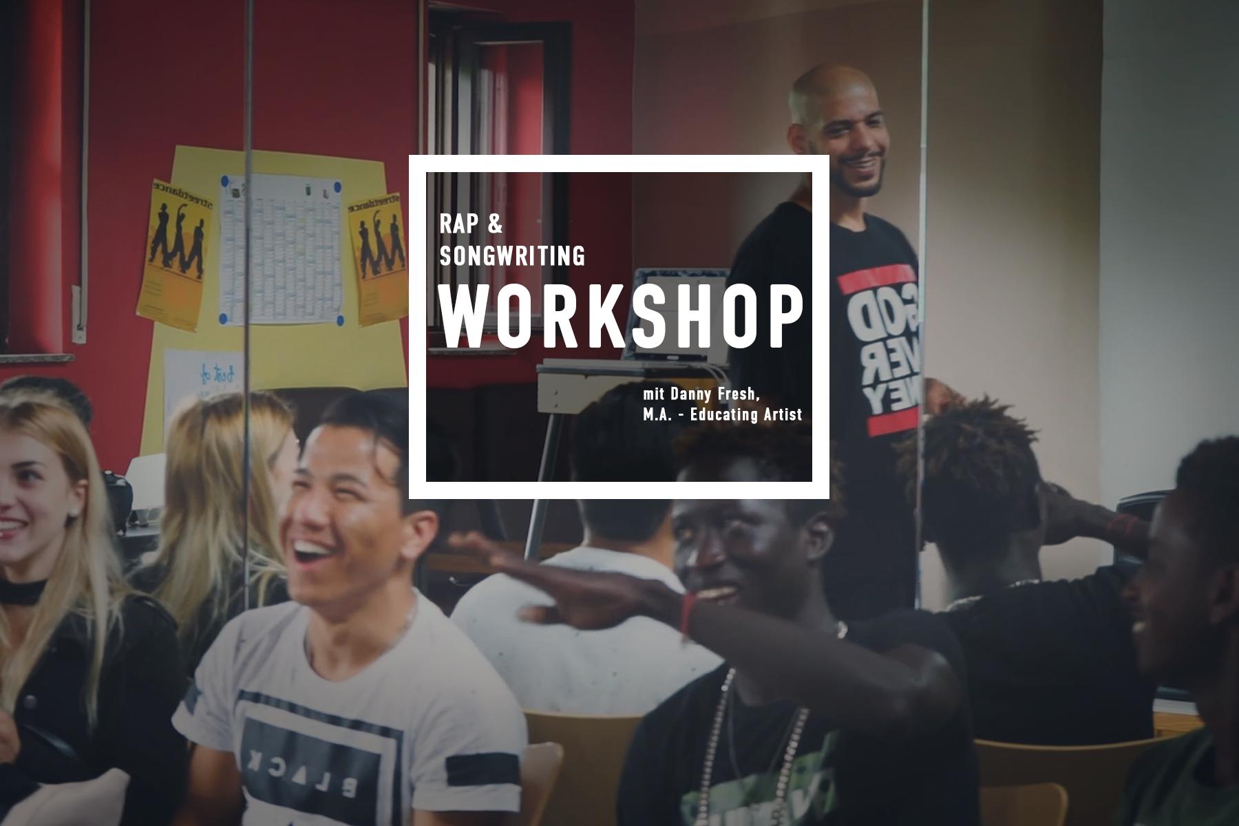 Rap Workshop mit Danny Fresh